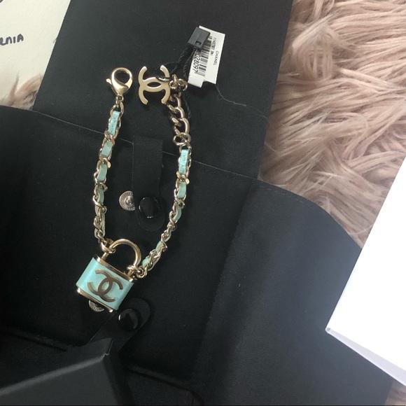 CHANEL Jewelry - Chanel Lock bracelet